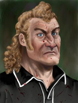 Venture Bros - Brock Samson Now with Blood! by quickmind