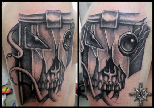 Impaler Rises Tattoo by Chaostouched