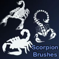 Scorpion Brushes by remygraphics