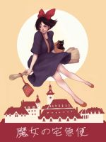 Kiki's Delivery Service by yasa-hime