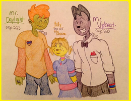 Sunshine Family by Chickie456