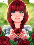 Garden Of Roses by Lily-Nicole
