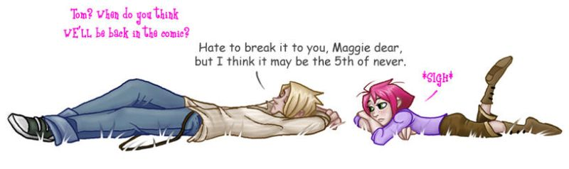 Tom and Maggie by MossLilys