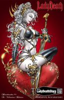 Lady Death Cover by jamietyndall