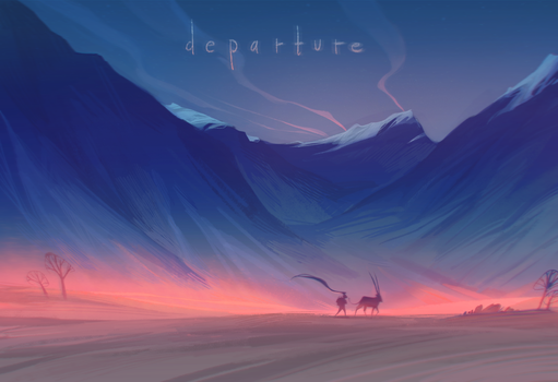 departure by loish