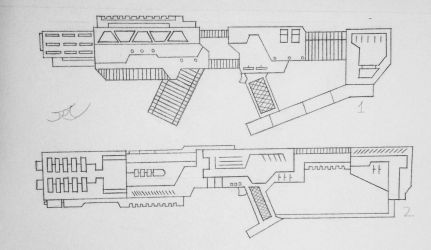 Weapons of the USN: Assualt Rifles 2 (Project A) by AngelOfNope