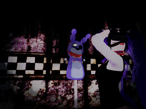 Willow With Withered Bonnie V.1 NOT A FEMALE PG!! by Blutengle