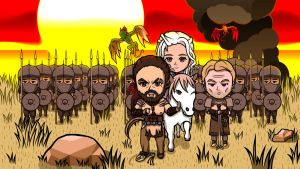 Game of Thrones, Mother of Dragons by rei-baahk