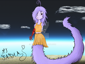 Kinla Gift Remake: Fluffy Lamia by LynxGal