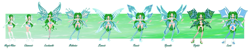 [WC][C]: Veolla S1-S4 Fairy Evolution  by strongball