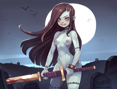 Undead Girl by CyanCapsule