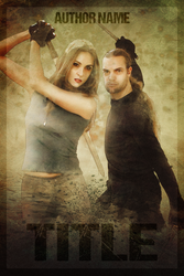 Cover Design Contest - Couple fighting poses 1 by GrafXthings