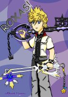 Roxas photoshopped by GhostLiger
