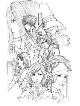 FINAL FANTASY by kowan