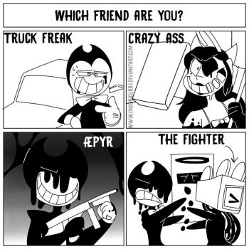 BATIM Out of your friends... by OnigiriCurry