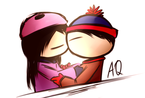 Kissing by aq1218