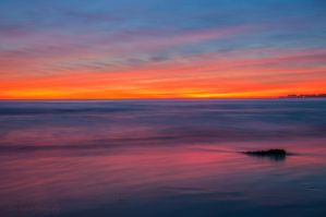 Seacliff Sunset III by Allen59