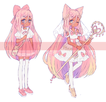 Magical Girl adopt - OPEN by Seraphy-chan
