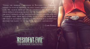Claire Redfield, Game of Oblivion by VickyxRedfield