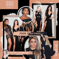 Pack png - Fifth Harmony. by ValentinaDontiWanna