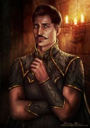 Dorian Pavus by DominiqueWesson