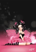 Gothic in Pink Commission by Queen-Uriel