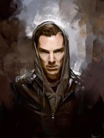 Hooded Benedict by WisesnailArt