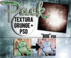 PACK: textura grunge + PSD by AgustinMonster28