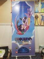 Unguarded Retractable Banner by ladytygrycomics