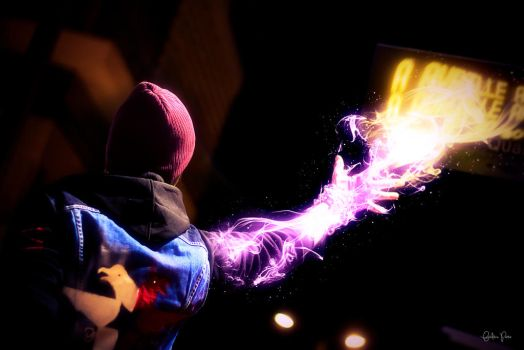 Neon power - InFamous Second Son cosplay by James--C