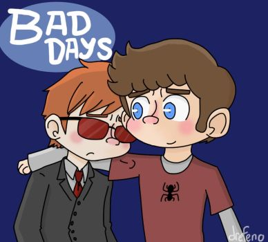 Bad Days- Matt and Peter by drefeno