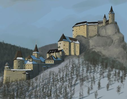 'Orava Castle' by A-Teivos