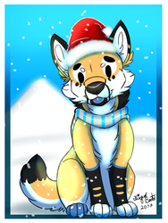 :PA: Snow Pupper by Guiga360