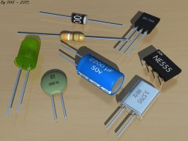 Electronic Components by JohnK222