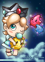 Baby Rosalina - In the Galaxy by Redztheartist