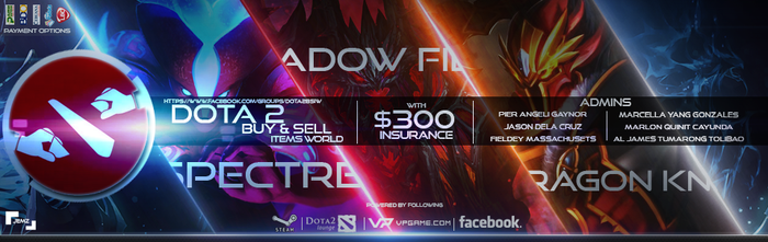Group Cover For: Dota 2 Buy and Sell by fuzrohdaa