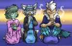 COM: Tea with 'Teryx by MustLoveFrogs