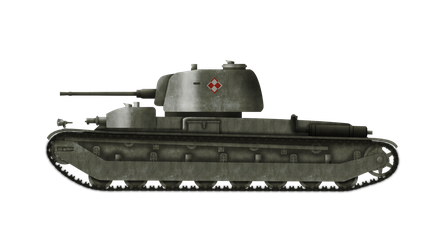 Heavy Tank - 25tp wz. 40a/a by Escodrion
