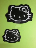 Hello Kitty Silhouette by Ayjah