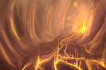 Explosion in the cave by nessie904