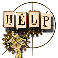 Victorian Help Icon by TickTix