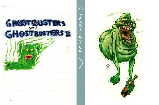 20 Years Later: SLIMER by TheWoodenKing
