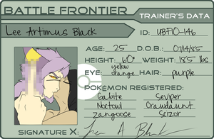 UBF - ID card by CasFlores
