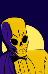 Manny Calavera by figlesiase