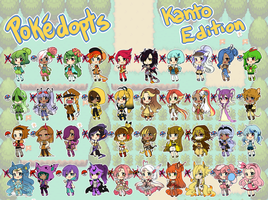 Pokejinka Adopts - Kanto batch 1 (OPEN) by DesireeU
