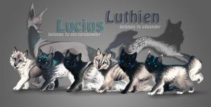 Lucius x Luthien by areot
