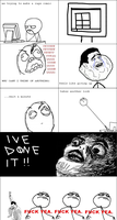 first rage comic by Kayaba-Wolf