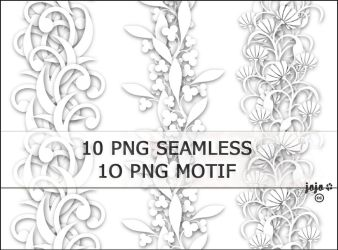10 PNG seamless by jojo-ojoj