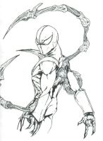 iron spiderman by THEGODSLAYER91