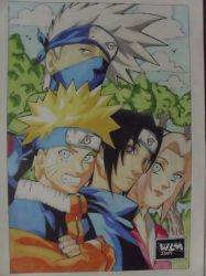 Naruto team by willsasuke